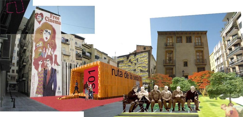 Imagina Velluters – Imagina Almería con fachadas alternativas