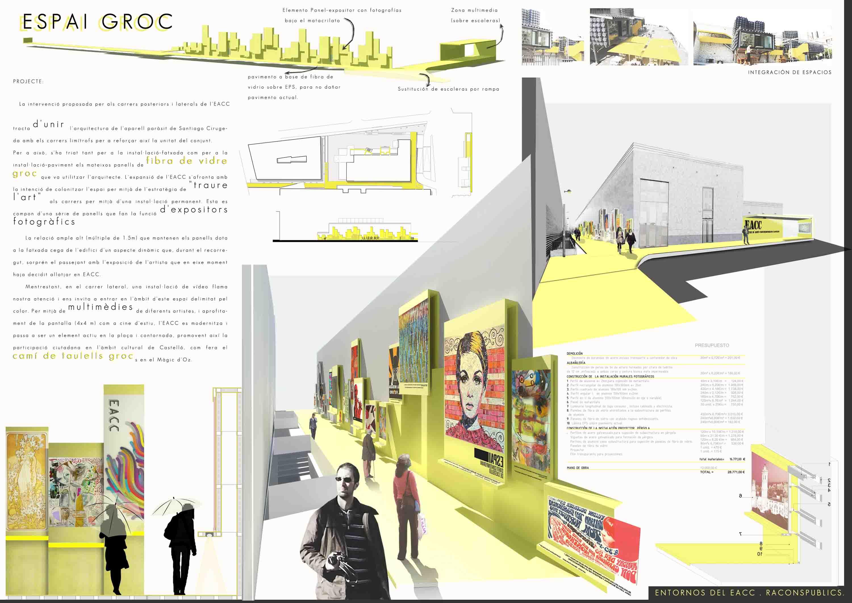 RACONS, Proyectos para mejorar tu ciudad
