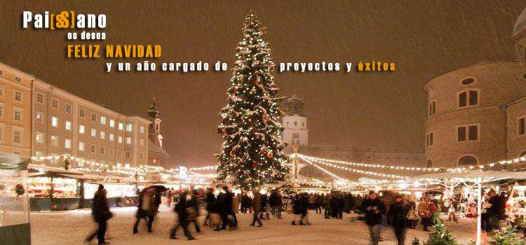 Feliz navidad Paissano