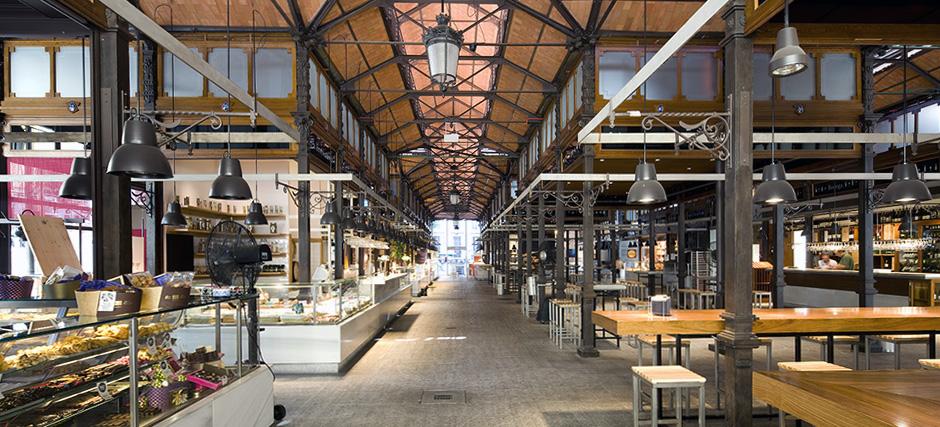 Mercado San Miguel Rehabilitacion