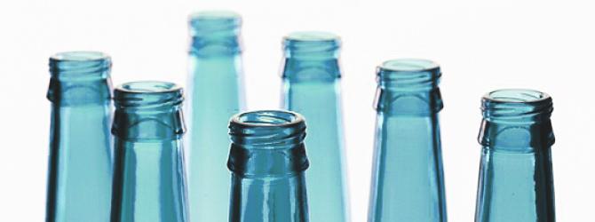 Diseño con Botellas de Vidrio Reciclado