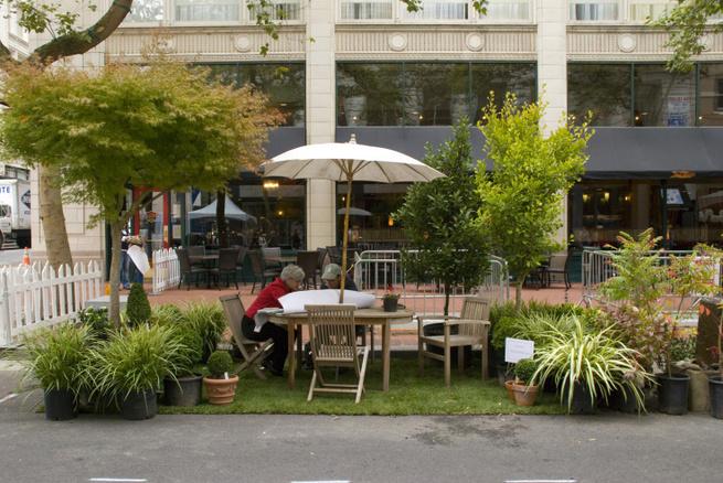 Parking Day, nuevas tendencias de paisajismo en la ciudad