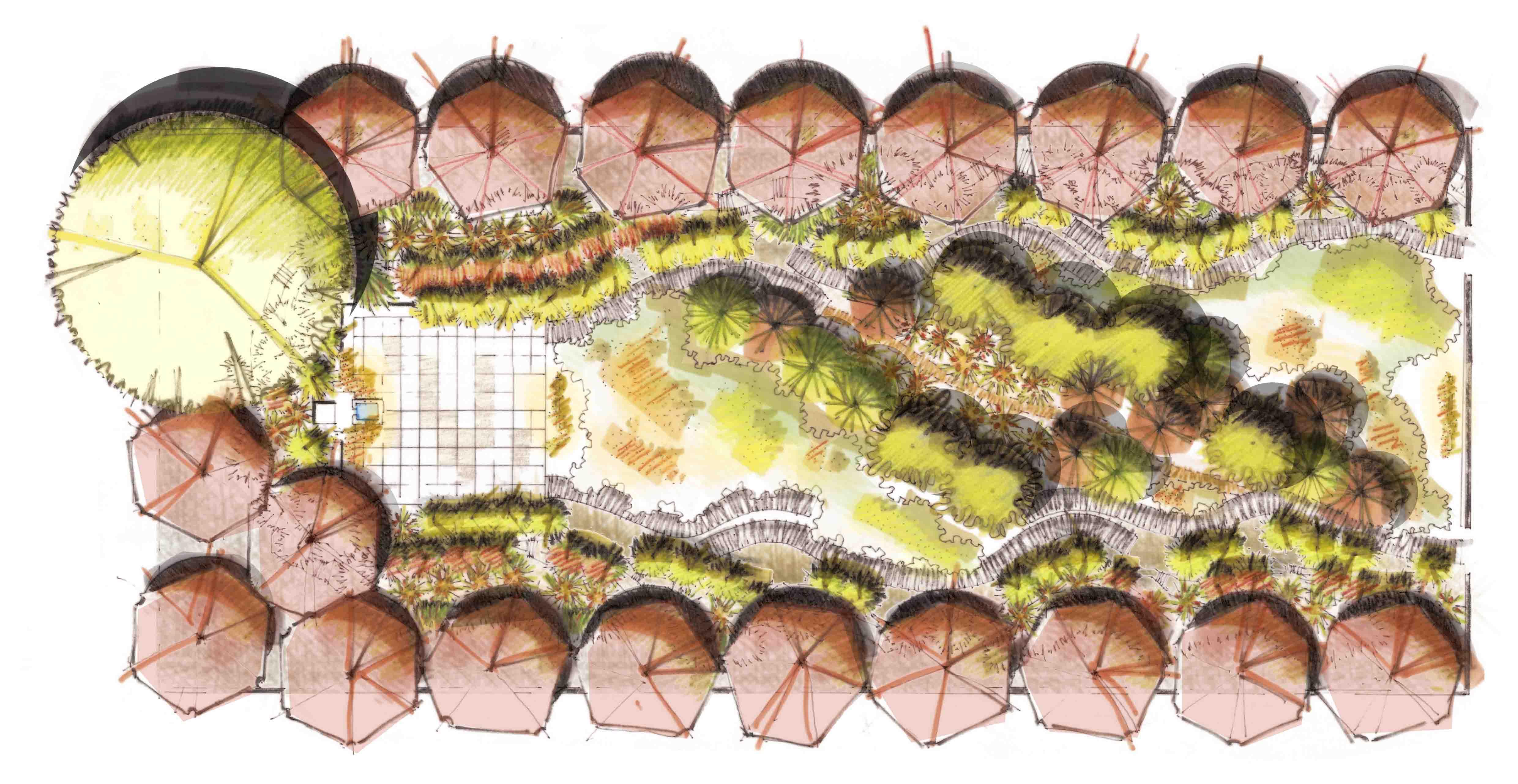 Diseño de jardines y exteriores para un Jardín Mediterráneo