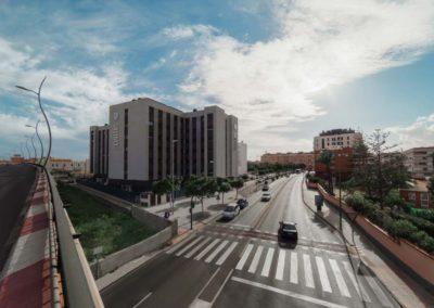 Arquitectura Contemporanea Residencia civitas Almería Exteriores