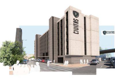 Arquitectura Contemporanea Residencia civitas Almería Proyecto