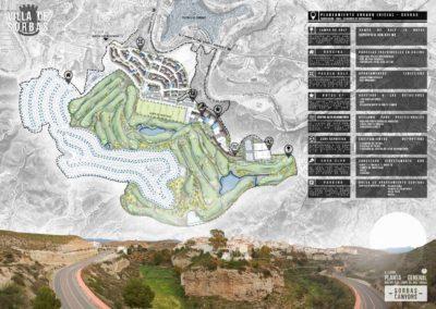 Diseño Gráficos y Láminas de Arquitectura y paisajismo Proyecto