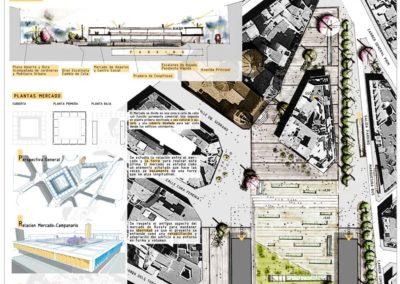 Diseño Gráficos y Láminas de Arquitectura y paisajismo urbanismo
