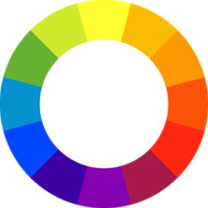 rueda color diseño de jardines